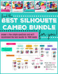 Silhouette Machine Comparison Chart Best Silhouette Cameo Bundles Comparison Buying Help