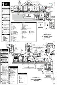 honolulu airport map