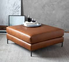 tan leather ottoman. Exellent Tan Jake Leather Sectional Ottoman For Tan T