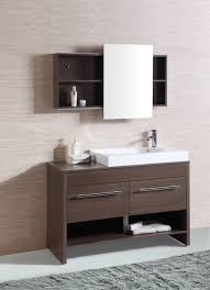 Bathroom Vanities Lights Adorable Modern Bathroom Vanity Legion WT48R Light Mocha Finish