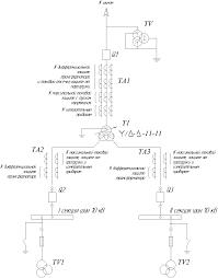 Схемы защиты трансформатора
