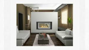 see through ethanol fireplaces 2 sided wall fireplaces