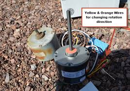 fan condenser fan motor replacment diyhvacrepair com here is my new motor next to the old one i am replacing my oem 3 wire motor a 4 wire motor click here to learn more about 3 wire to 4 wire motors