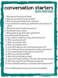 20 conversation starters for kids free printable print and use at family meals or bedtime