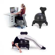 are exercise ball chairs really good for your health
