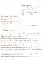 formal handwritten letter format school visits workshops
