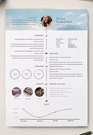 Illustrator Resume 24 Free Editable Minimalist Resume CV In Adobe Illustrator And 21
