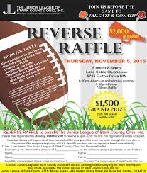 Raffle Event Reverse Raffle The Junior League Of Stark County Ohio Inc