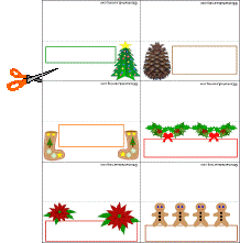 christmas placecard templates 26 images of christmas place card clip art and template leseriail com