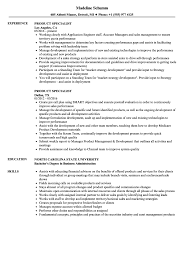 Product Specialist Resume Samples Velvet Jobs