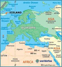 Αποτέλεσμα εικόνας για iceland map