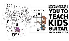 Guitar Scale Wall Chart Free How To Teach Kids To Play The Guitar