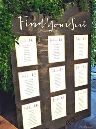top result diy table signs beautiful diy wedding seating chart google search come the day you