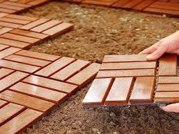 inexpensive outdoor diy flooring option