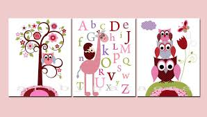 baby girl wall decor themes