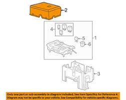 gm oem fuse relay box upper cover 25815385 image is loading gm oem fuse relay box upper cover 25815385