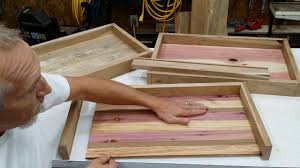How to build a Serving Tray! DIY ~ Great gift idea.