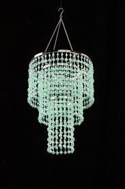 vintage faux crystal chandelier