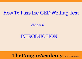 how to pass the ged writing test video introduction