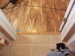 laminate flooring transition to ceramic tile hardwood floor doorway transition