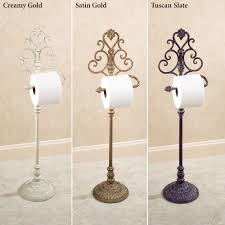 Aldabella Wrought Iron Toilet Paper Stand