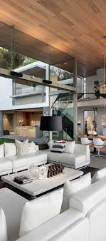 Interior furniture design ideas Dining Room The Use Of Vertical And Horizontal Lines Makes It Very Modern Also The Organic Design And Large Open Windows Bring The Outside In Interior Design For Elle Decor 2492 Best Modern Living Room Ideas Images In 2019 Colors