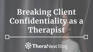 break confidentiality in counseling