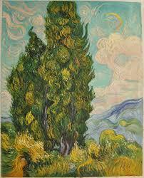 van gogh reion cypresses