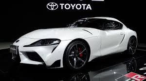 2020 Toyota Supra Photos From 2019 Bangkok International