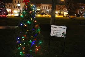 Chardon Christmas Tree Lighting Chamber Tree 3 Chardon Area Chamber Of Commerce