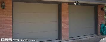 flush panel garage doorFlush Panel  Steel Panel  GEIS Garage Doors  Milwaukee