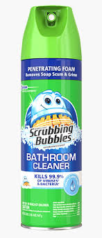 scrubbing bubbles disinfectant bathroom cleaner fresh clean scent