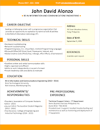 resume types examples interview resume format different of sample cover letter resume types examples interview resume format different of sample for fresh graduates single pageresume