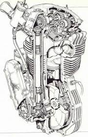 ducati 250 gt single schematic cutaways artworks manx norton drawings google search · technical drawingstechnical illustrationsmotorcycle engineclassic