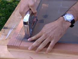 How to Build a Redwood Screen Door | how-tos | DIY