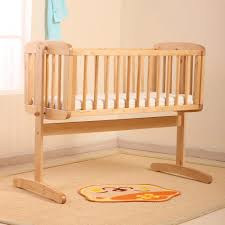... Large Size Nobility Small Baby Cribs With Colors Wooden ...