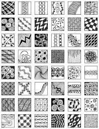 Zentangle Pattern Extraordinary Page 48 zentangle patterns free Zentangle Grid Design Fill