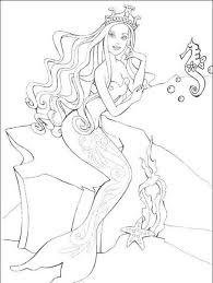 Disegni Da Colorare Barbie Sirena Disegni Da Colorare E Stampare