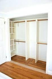 replacing sliding closet doors