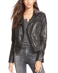 free people ob429469 hooded vegan moto jacket black 168