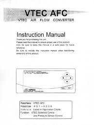 apexi installation instruction manual vtec air flow converter apexi vtec controller wiring diagram Vtec Controller Wiring Diagram #37 Vtec Controller Wiring Diagram
