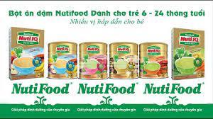 Tất tần tật thông tin về bột ăn dặm NutiFood (NutiIQ) mẹ nên biết