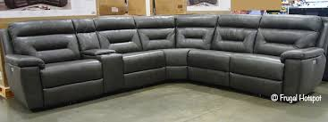 costco corry leather power reclining