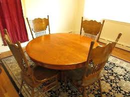 round pedestal dining table with leaves antique oak round pedestal dining table with claw feet leaf