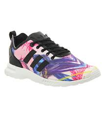 adidas zx flux womens. adidas zx flux smooth (w) floral smooth womens