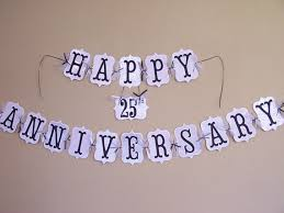 happy anniversary banners custom happy anniversary banner 50th 40th by custompapermemories