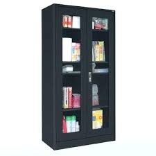 metal storage cabinet. Metal Storage Cabinet Lowes Store Cabinets With Doors And Shelves .