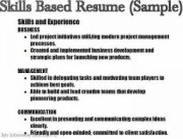 Resume Skill Samples Skill Resume The Best Resume 37