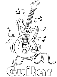 Free Music Coloring Pages & Sheets for Kids - Preschool Learning ...