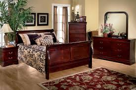 Sleigh Bed Bedroom Set Louis Bedroom Collection
